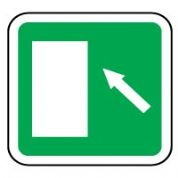 Safe Safety Sign - Door Left Up 045